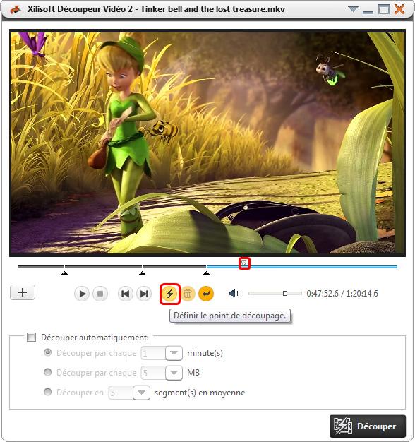Xilisoft Découpeur Video