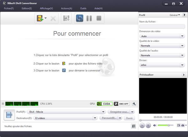Xilisoft DivX Convertisseur