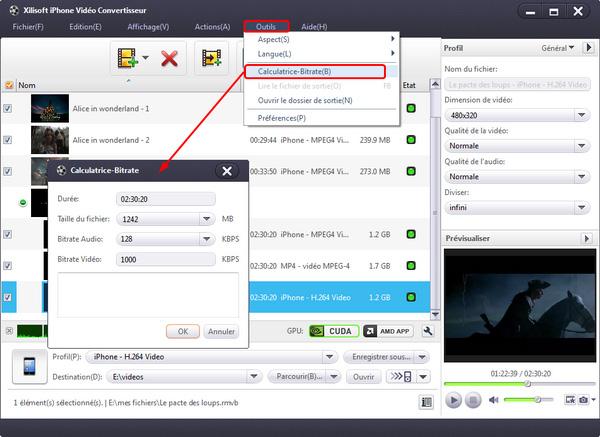 Xilisoft iPhone Vidéo Convertisseur