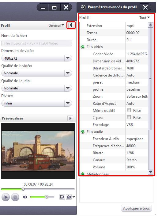 Xilisoft PSP Vidéo Convertisseur
