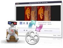 3D vidéo convertisseur pour Mac, convertisseur video 3D sur Mac
