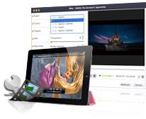 Blu-ray en iPad Convertisseur pour Mac