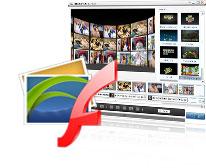 Créer le flash à partir des images de multiples formats