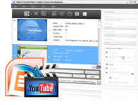 convertir PPT en vidéo YouTube