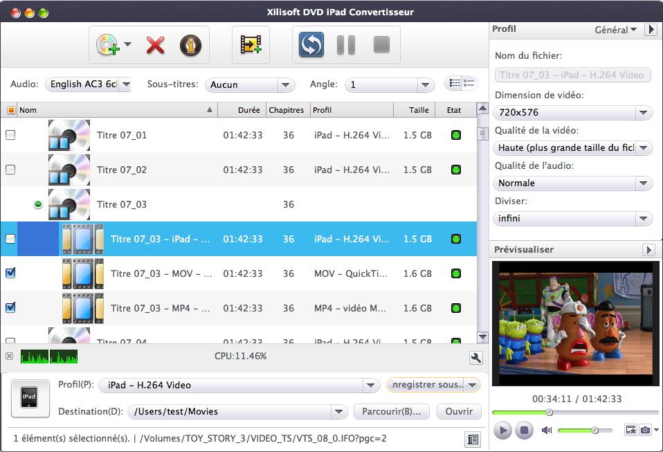 Xilisoft DVD iPad Convertisseur 6 pour Mac