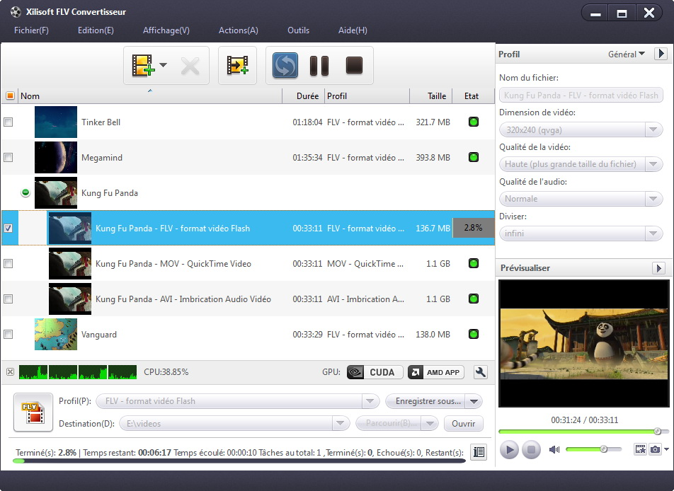 Xilisoft YouTube en DVD Convertisseur