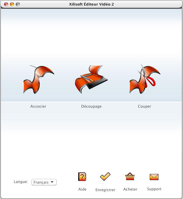 Xilisoft Éditeur Vidéo pour Mac