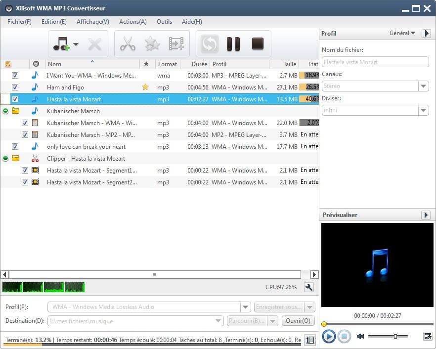 Xilisoft WMA MP3 Convertisseur